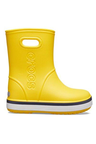 Crocs Çocuk Crocband Rain Boot K - Sarı/lacivert