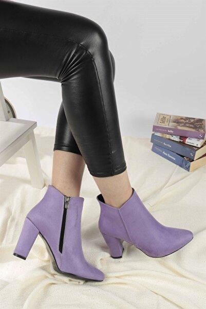 Hayalimdeki Ayakkabı Barnes Lila Süet Bot