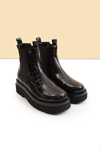 Pierre Cardin Pc-50828-3411-140 - Siyah Krokodil