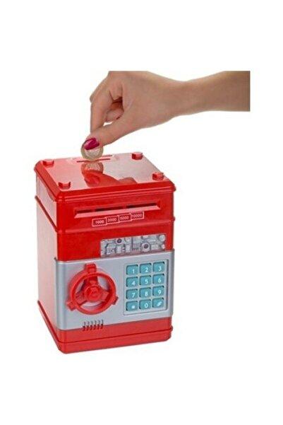 Özasya AVM Şifreli Otomatik Kağıt Para Alan Kasa Kumbara Oyuncak Dijital Atm