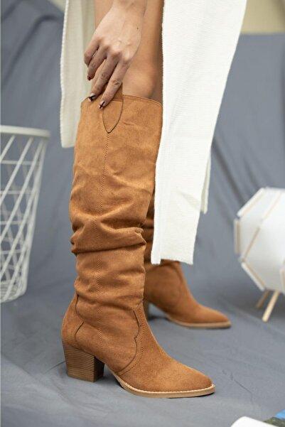 Nar Kadın Kovboy Çizme By Cn 401