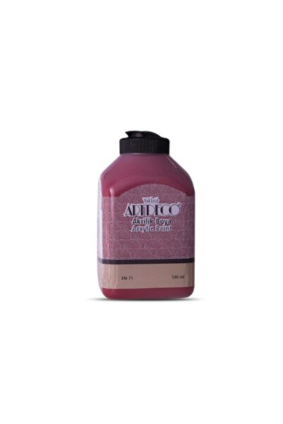 Artdeco 500 ml Bordo Akrilik Boya 3643