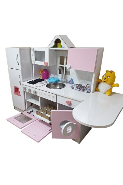 Ahşap Oyuncak Mutfak Model-2 Set