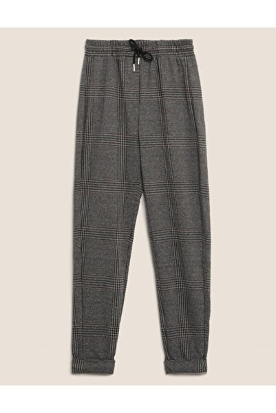 Marks & Spencer Ekose Tapered Leg Pantolon