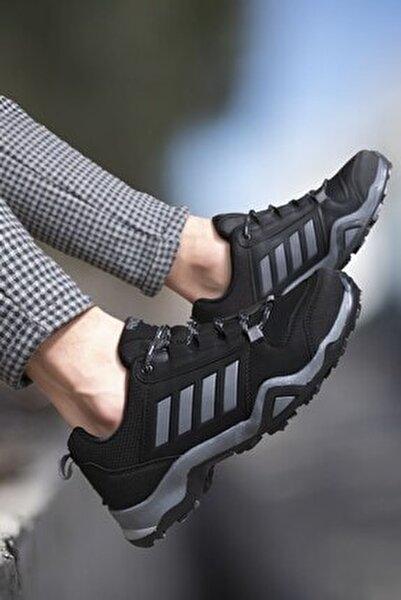 Siyah Füme Erkek Trekking Ayakkabı 0012189