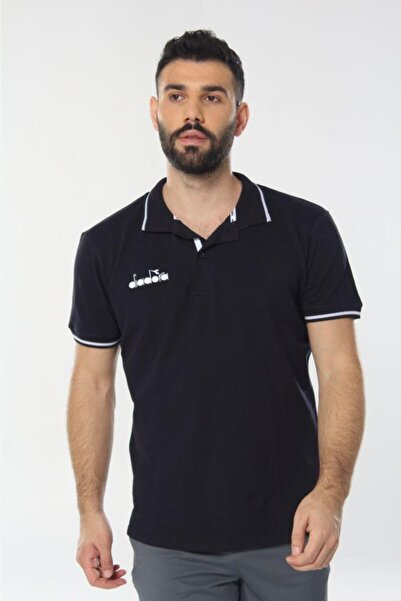 Diadora Liv Kamp Polo T-shirt Lacivert