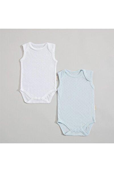 Chakra Lonya Kolsuz 2li Body Set Mavi/beyaz