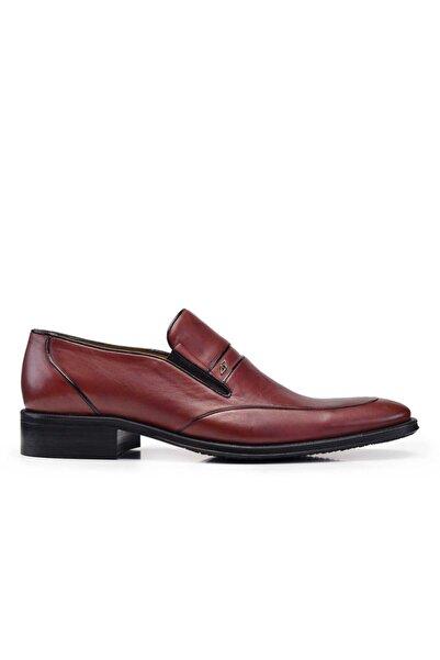 Nevzat Onay Hakiki Deri Kahverengi Klasik Loafer Erkek Ayakkabı -7644-