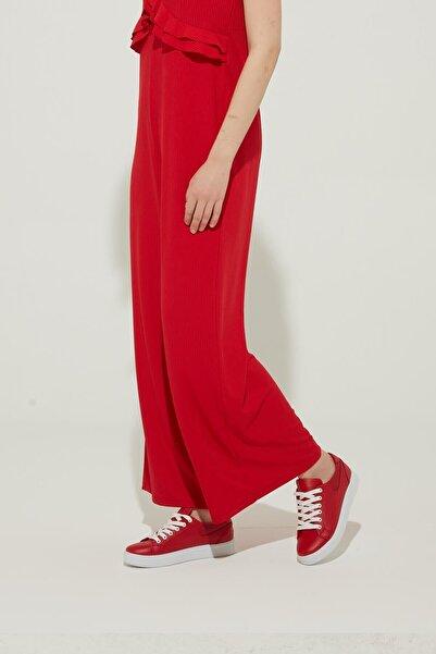 ZİNDİ Kadın Sneaker Ayakkabı Kırmızı