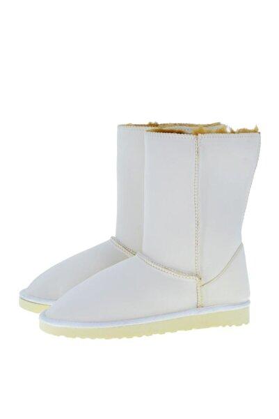 Antarctica Boots Dalgıç Kumaş Içi Kürklü Beyaz Bayan Bot Kınw-00001