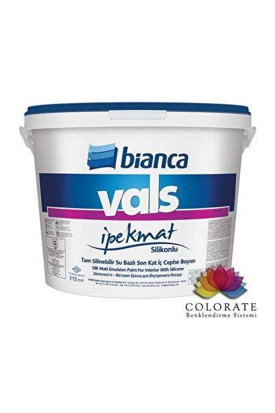 Bianca Vals Ipek Mat 0414 Havai Mavi Rengi Silikonlu Iç Cephe Boya 0.75 Lt