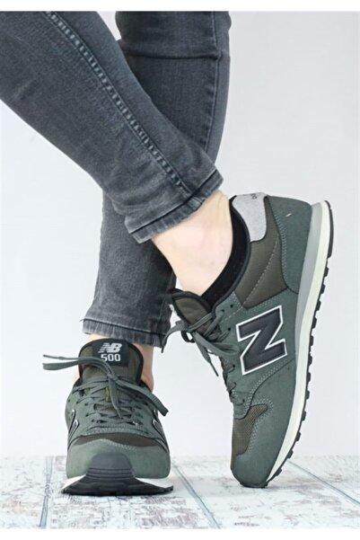 New Balance 500 Gri Haki Erkek Sneaker Spor Ayakkabı Gm500tggv3