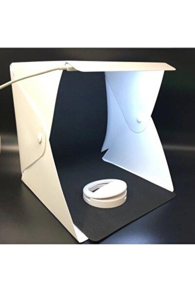 AntaStore Ürün Çekim Çadırı Taşınabilir Katlanır Led Işıklı Fotoğraf Stüdyosu Işığı