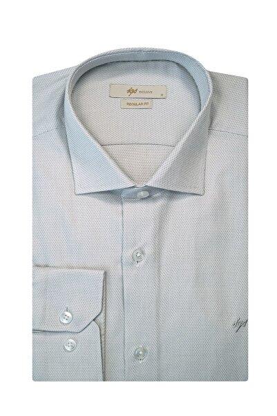 İgs Erkek A.gri Regularfıt / Rahat Kalıp Std Gömlek
