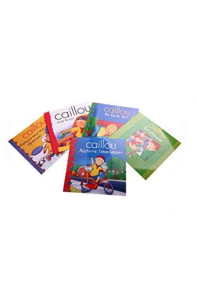 AKADEMİLOJİ 3'lü Caillou Hikaye Kitabı Seti