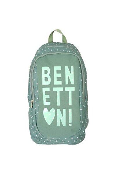 Benetton Sırt Çantası Siyah 96029 Okul Çantası Siyah 96029
