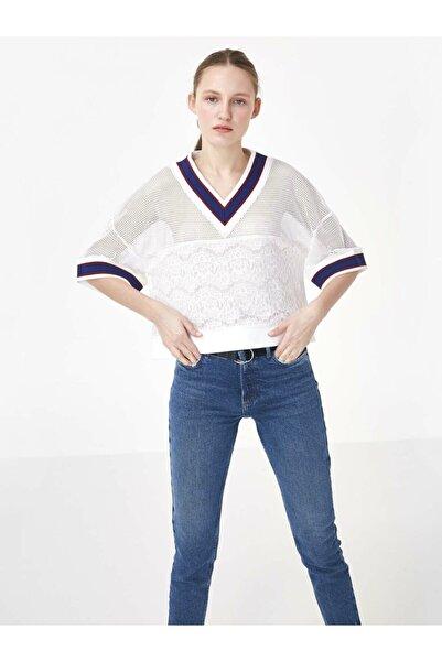 Twist Ribana Yaka Crop Bluz