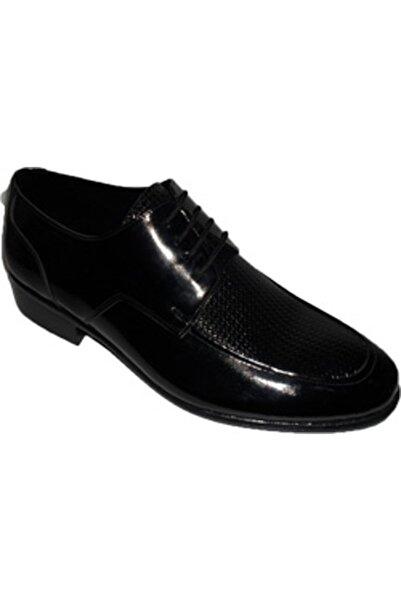 NK Zeki Satıl Yüzü Yılan Bağlı Siyah Ayakkabı 44