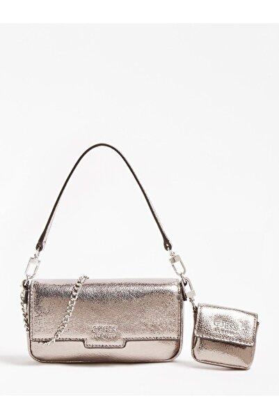 Guess Kadın Gümüş Çapraz Çanta