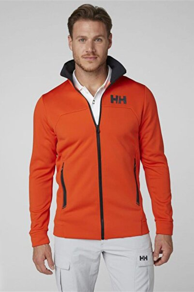 Helly Hansen Hp Fleece Erkek Arakatman Sweat Ceket Magenta