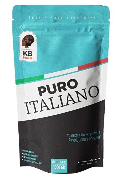 KOFFIEBOON Puro Italiano - 1 Kg - Çekirdek Kahve -