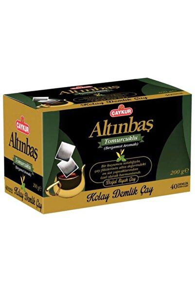 Çaykur Altınbaş Demlik Poşet Çay Bergamot Aromalı 40 Adet