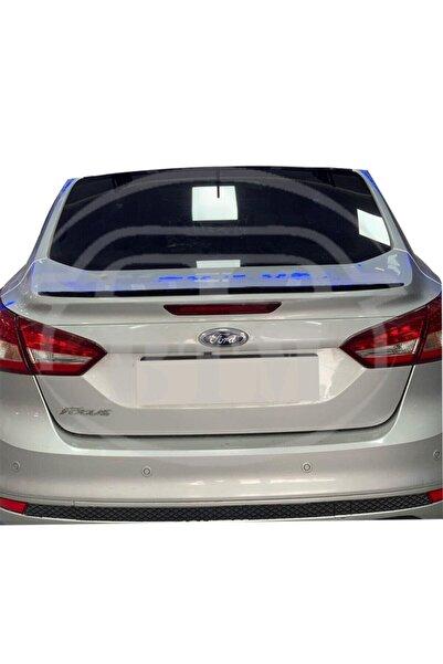 BTM OTOMOTİV Ford Focus 3-3.5 Bagaj Üstü Spoiler Piano Black