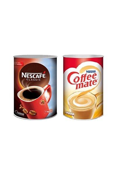 Nestle Nescafe Classic 1000 gr + Coffee Mate 2000 gr