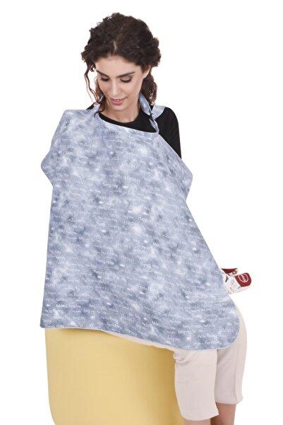 Sevi Bebe Tokalı Emzirme Örtüsü Art-6372 Kot