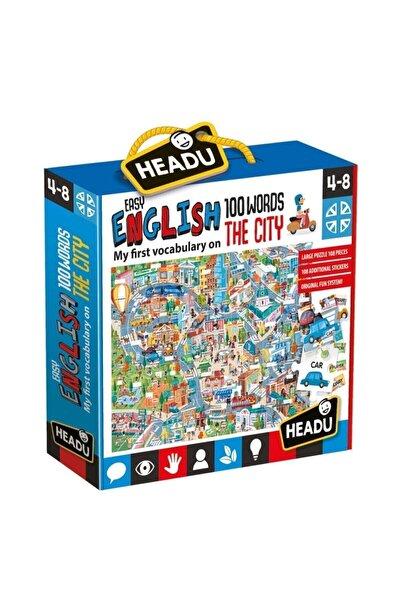 CARIOCA Headu 100 Ingilizce Kelimeli Şehir Yapbozu