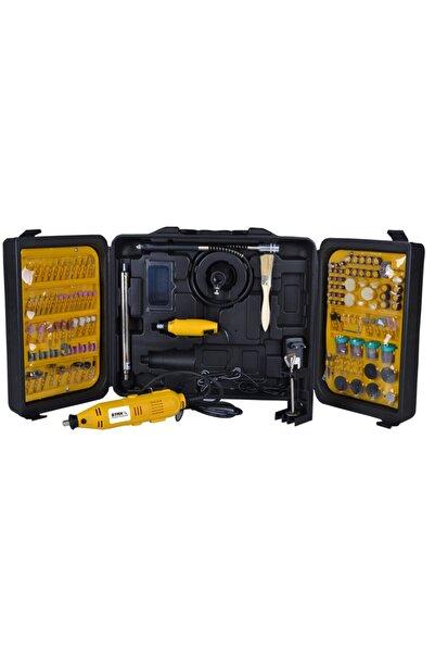 STAXX POWER 405 Parça Devir Ayarlı Gravür Oyma Makinesi Dremel Taşlama Zımpara Kesme Seti Sfc405a 450w