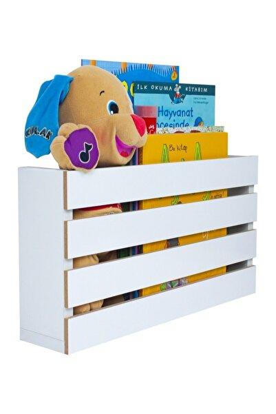 Ankaflex Ahşap Oyuncak Kutusu Montessori Ikili Oyuncak Dolabı