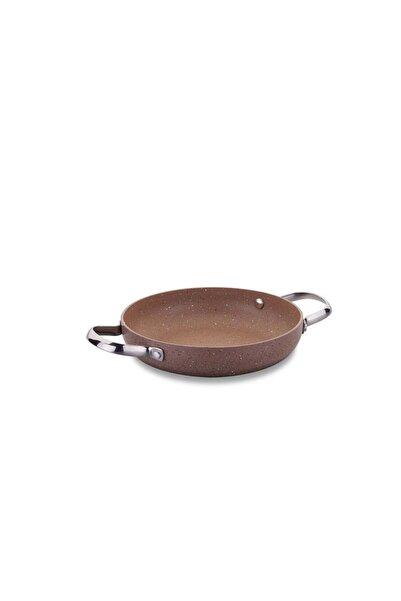 KORKMAZ Kahverengi Omlet Tavası 22 cm  A2914