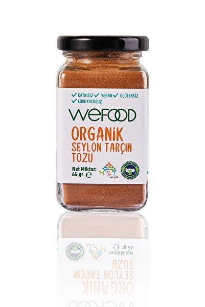 Wefood Organik Tarçın Tozu 65 Gr