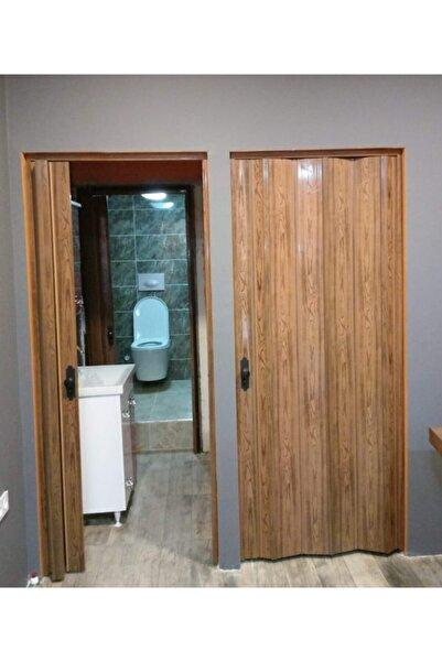 FARAN DEKORASYON Ceviz Camsız Akordiyon Kapı 86x216