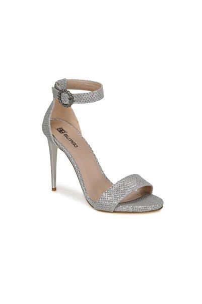 Butigo Maja Gümüş Kadın Topuklu Ayakkabı