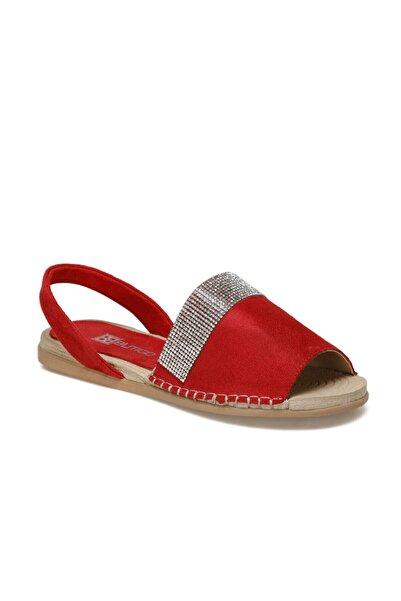Butigo Ibiza Kırmızı Kadın Sandalet