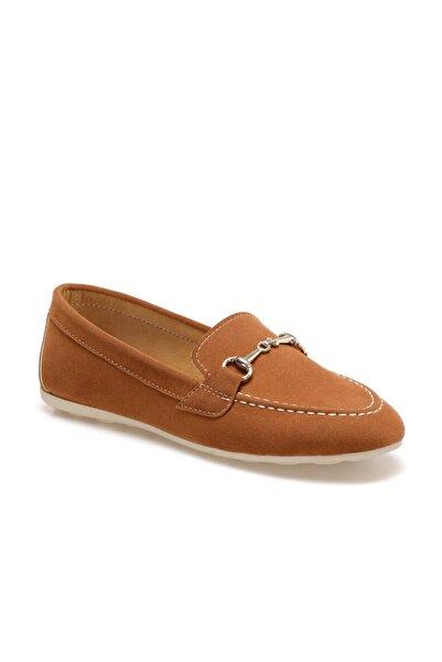 Butigo Candace Taba Kadın Loafer Ayakkabı