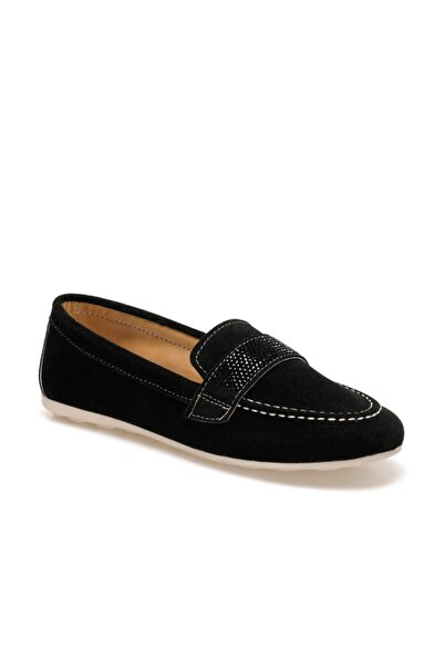 Butigo Adel Siyah Kadın Loafer Ayakkabı