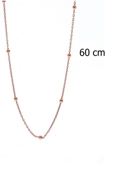 Söğütlü Silver Gümüş 60 Cm Top Top Zincir