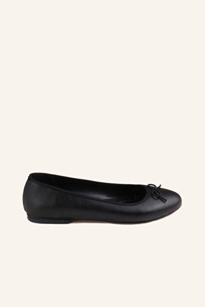 MARCATELLI Siyah 002 Balerin Babet