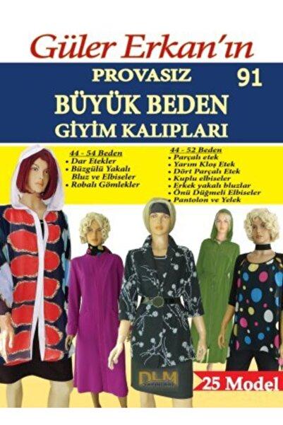 Dilem Yayınları Güler Erkan Provasız Büyük Beden Giyim Kalıpları No:91