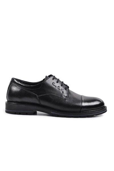 Pierre Cardin 104013 Siyah Erkek Hakiki Deri Casual Ayakkabı
