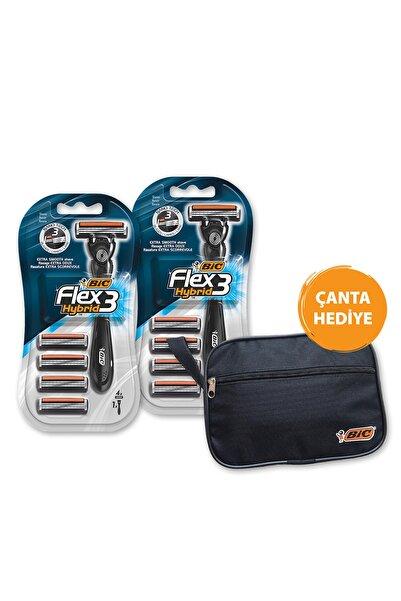 Bic Flex 3 Hybrid Tıraş Bıçağı 4  X 2 Adet
