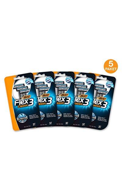 Bic Flex 3 Classic 3 Bıçaklı Tıraş Bıçağı 5 Adet