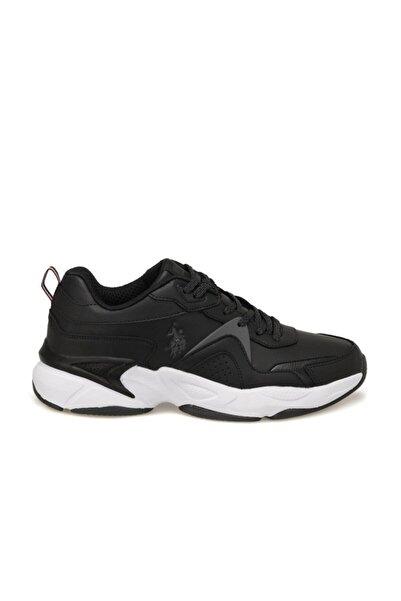 U.S. Polo Assn. Erkek Siyah Sneaker Ayakkabı