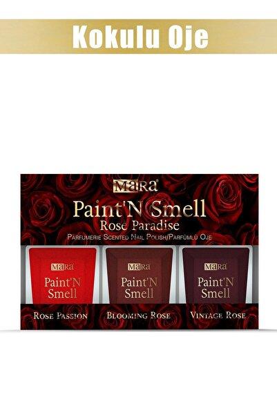 Mara Paint'n Smell Rose Paradise Kokulu Oje Seti