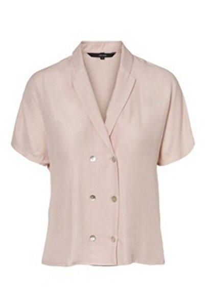 Vero Moda Bayan Kısa Kollu Gömlek