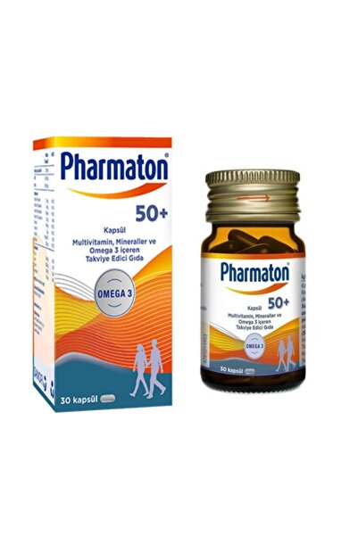 Pharmaton 50+ Omega 3 30 Kapsül