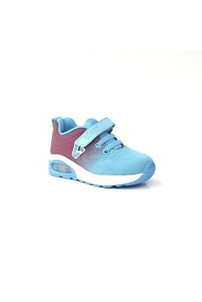 Vicco B194 Bordo-mavi Erkek Bebek Işıklı Spor Ayakkabı